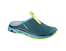 Zapato Salomon RX Slide 3.0 W Turquesa/Amarillo