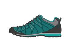 Zapato Trango Bomio Azul Verdoso 009