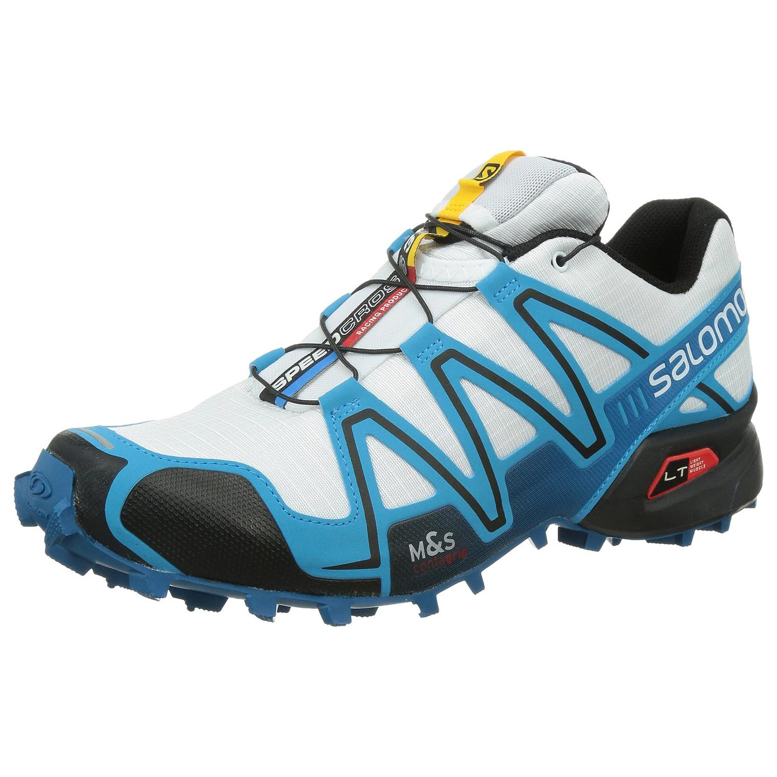 Zapatilla Salomon Speedcross 3 Blanco/Azul/Negro