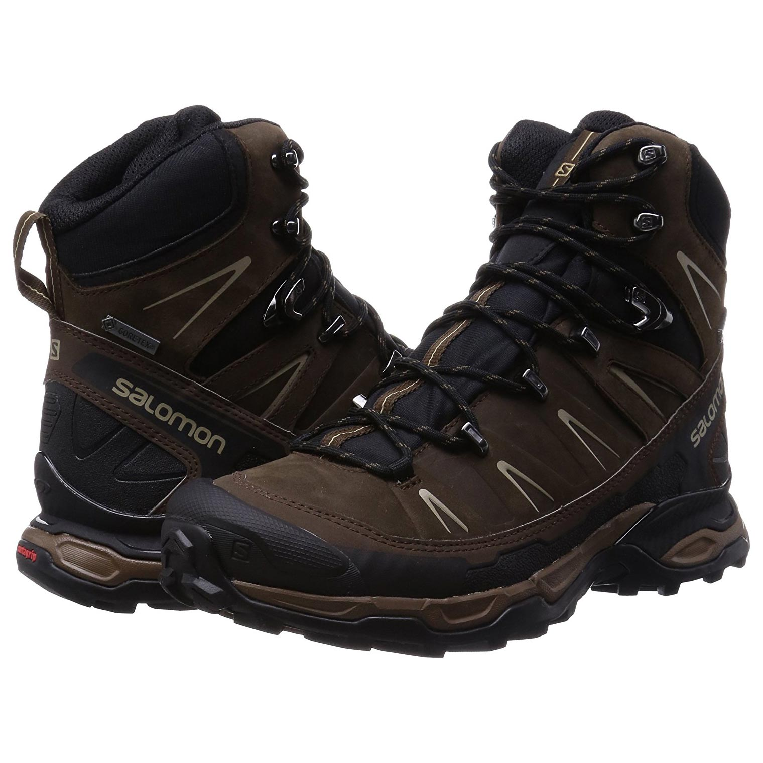 Bota Salomon X Ultra Trek GTX Marrón/Negro