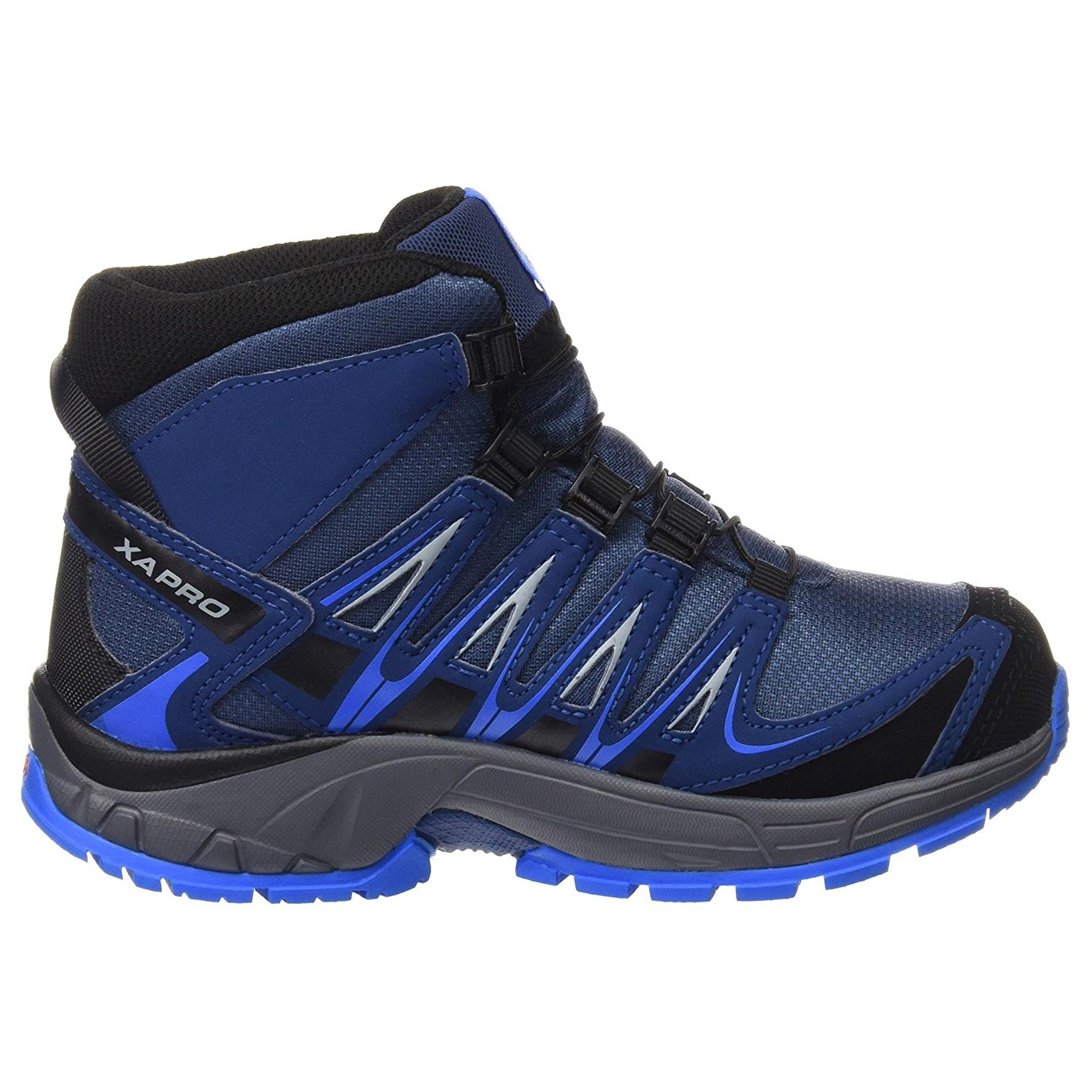 a6059a0d9e Bota Salomon XA PRO 3D MID CSWP J Marino/Azul/Negro
