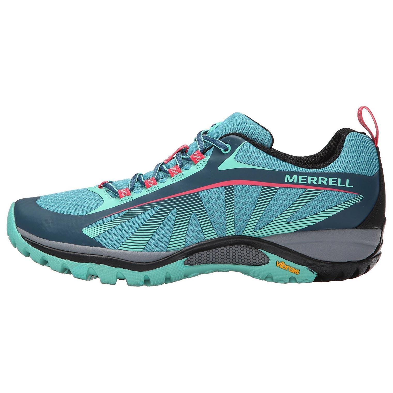 e9aac7531d9d1 Zapato Merrell Siren Edge W Azul Fucsia - Peregrinoteca