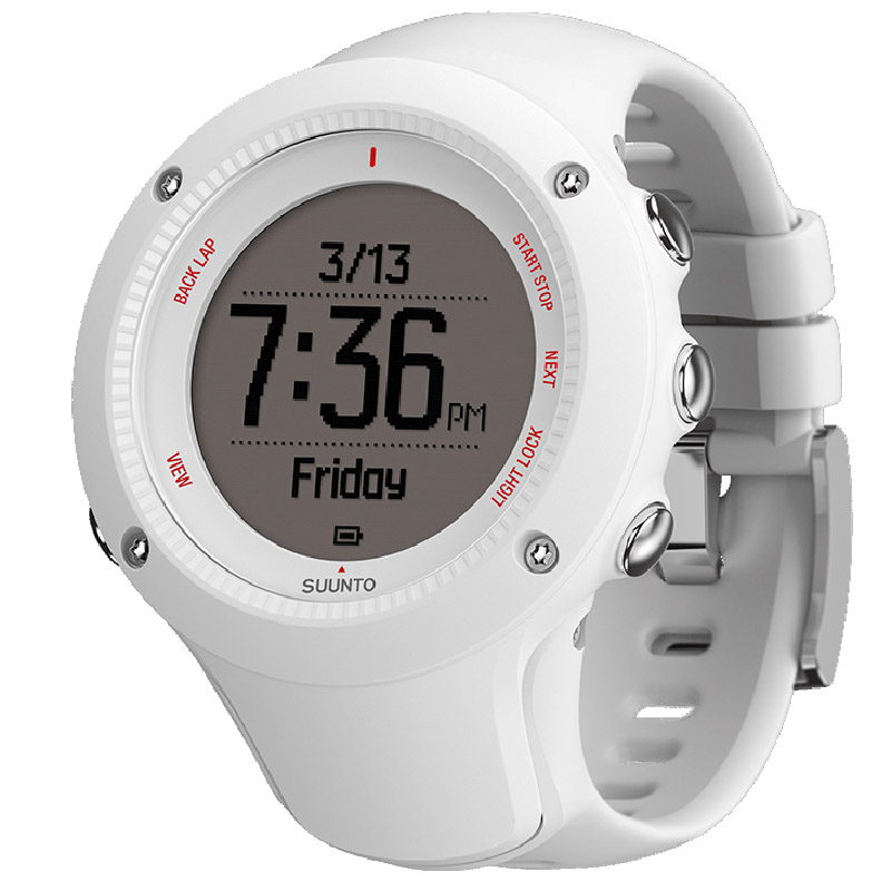 White Suunto Reloj Ambit3 Hr Run nP0Ow8Xk