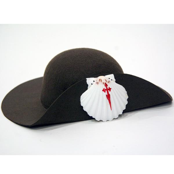 Sombrero clásico Peregrino fieltro marrón - Peregrinoteca