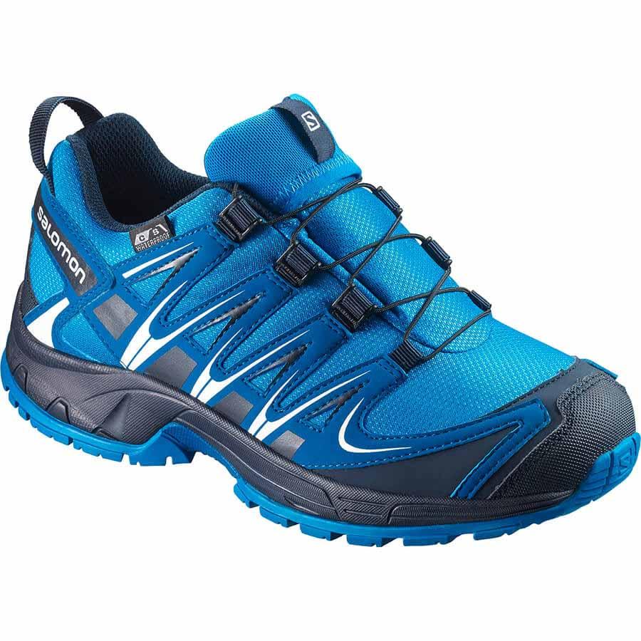 Zapatos azules Salomon XA Pro 3D infantiles V3Cm1tQ7V