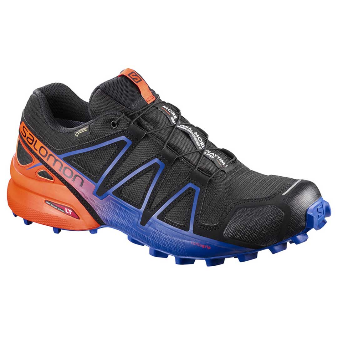 salomon speedcross 4 gtx trail running naranja