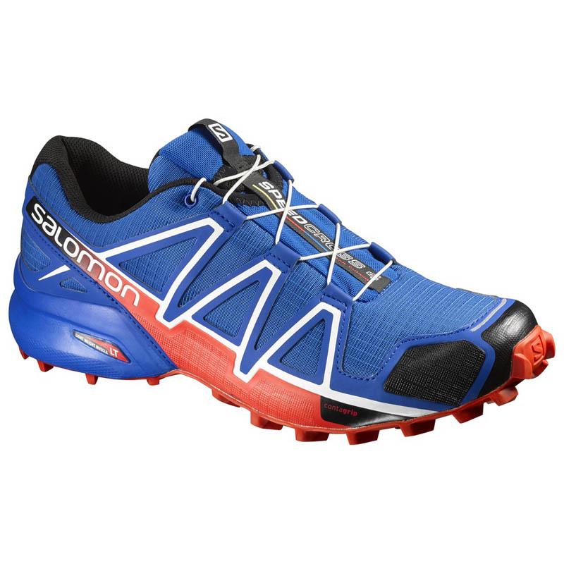 537871849e0 Zapatilla Salomon Speedcross 4 Azul/Negro/Naranja