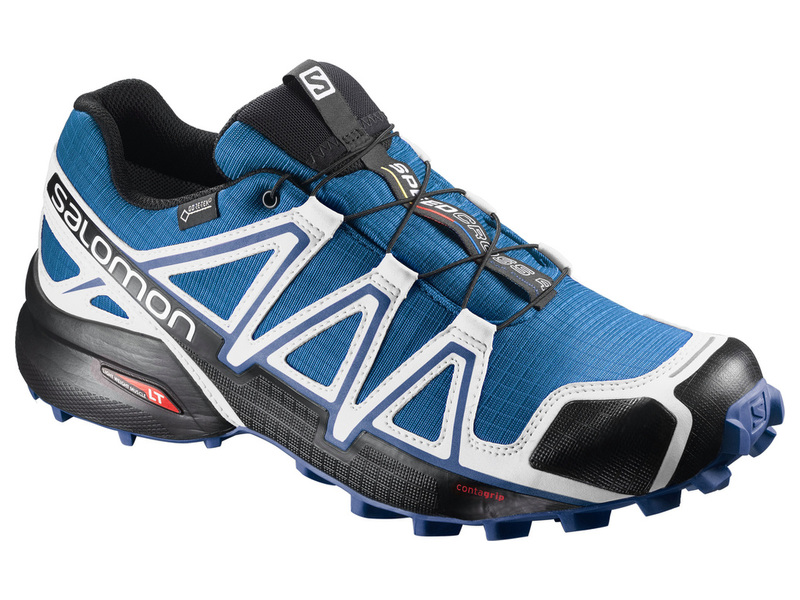 5ef4b1776b5b9 ... official zapatilla salomon speedcross 4 gtx azul blanco 6af64 3a27e
