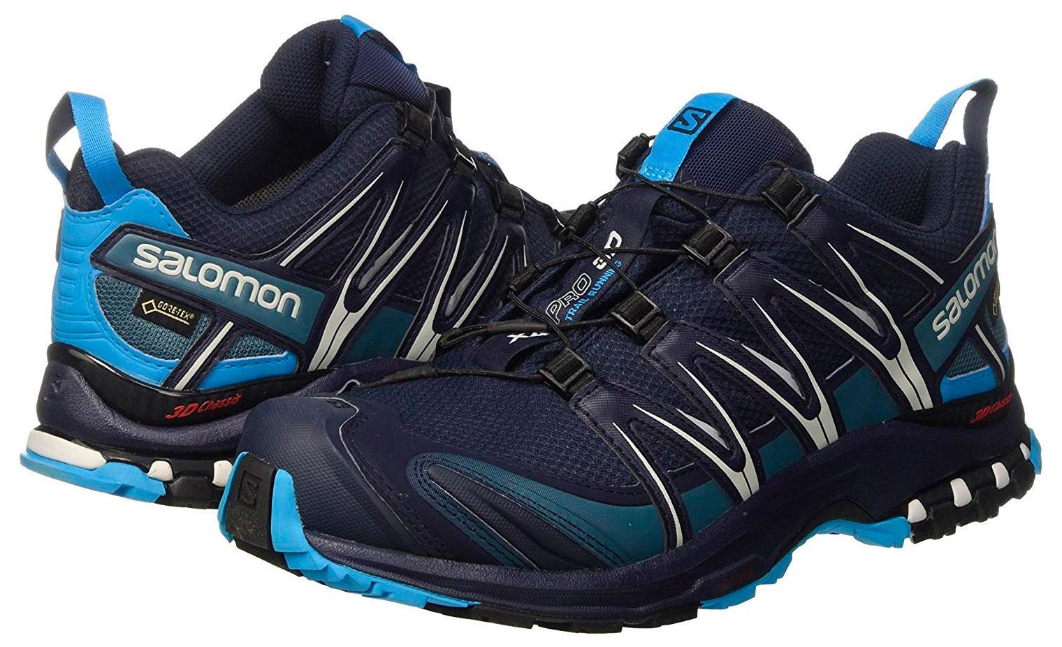Zapatillas Salomon XA PRO 3D GTX Marino/Azul