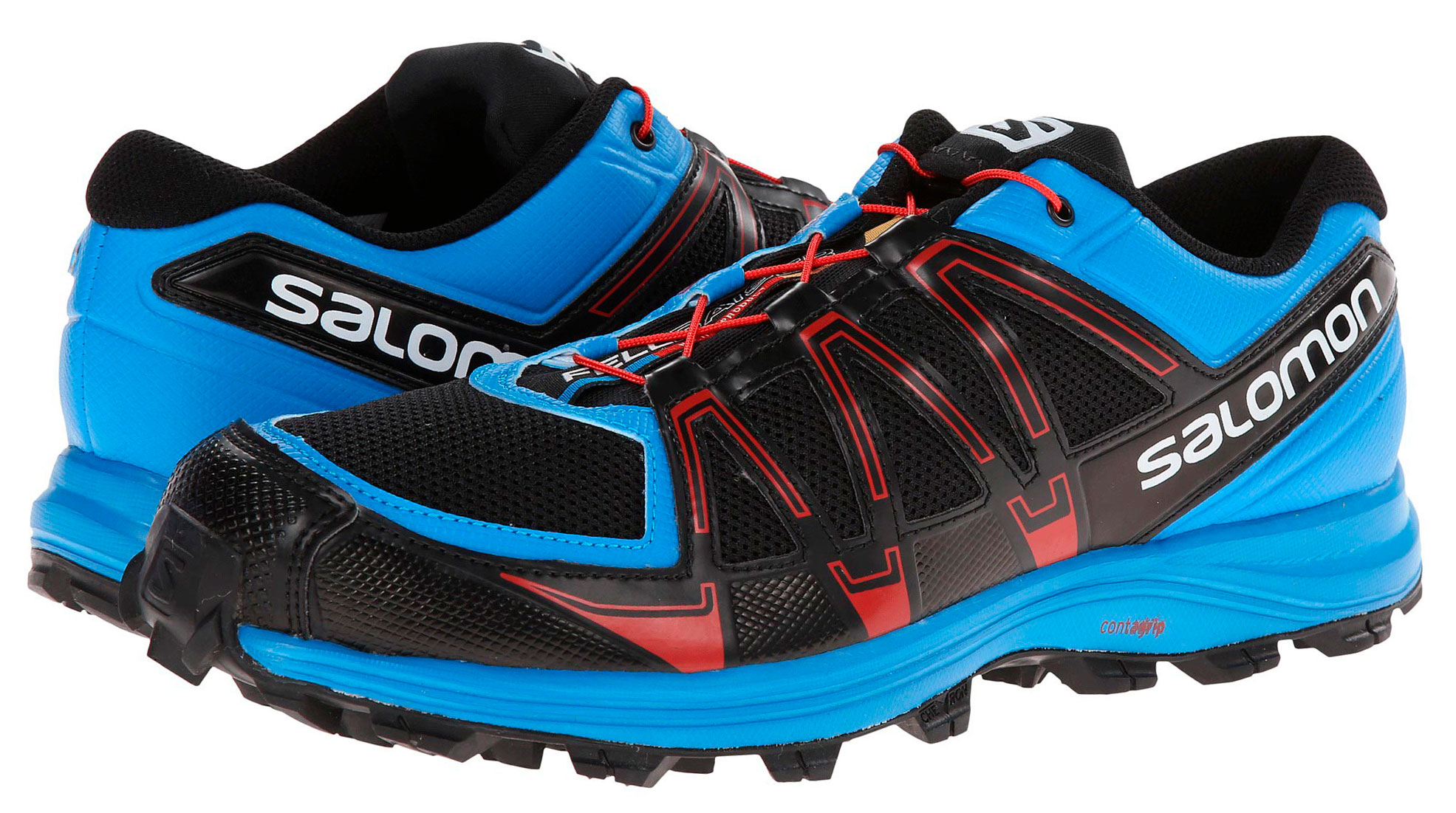Zapatillas Salomon Fellraiser Negro/Azul/Rojo