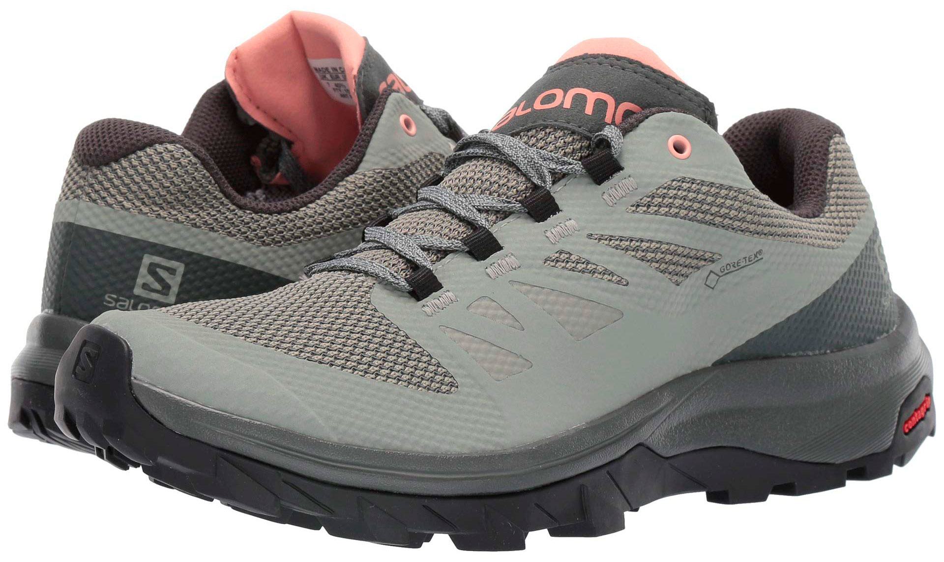Zapatillas Salomon Outline GTX W GrisCoral
