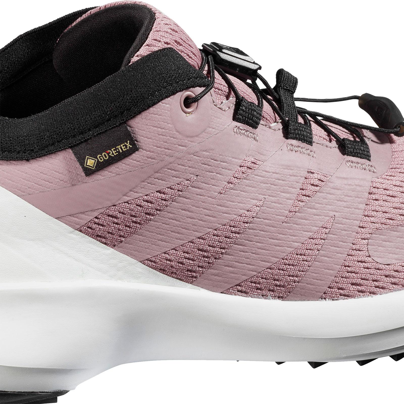 zapatillas salomon blanca de hombre rosa