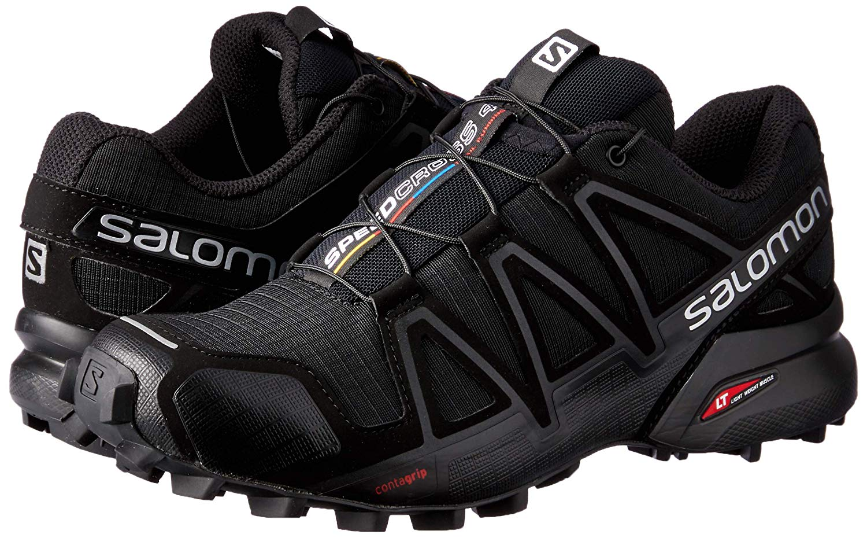 proporcionar un montón de liberar información sobre gran surtido Zapatillas Salomon Speedcross 4 W Negro/Gris