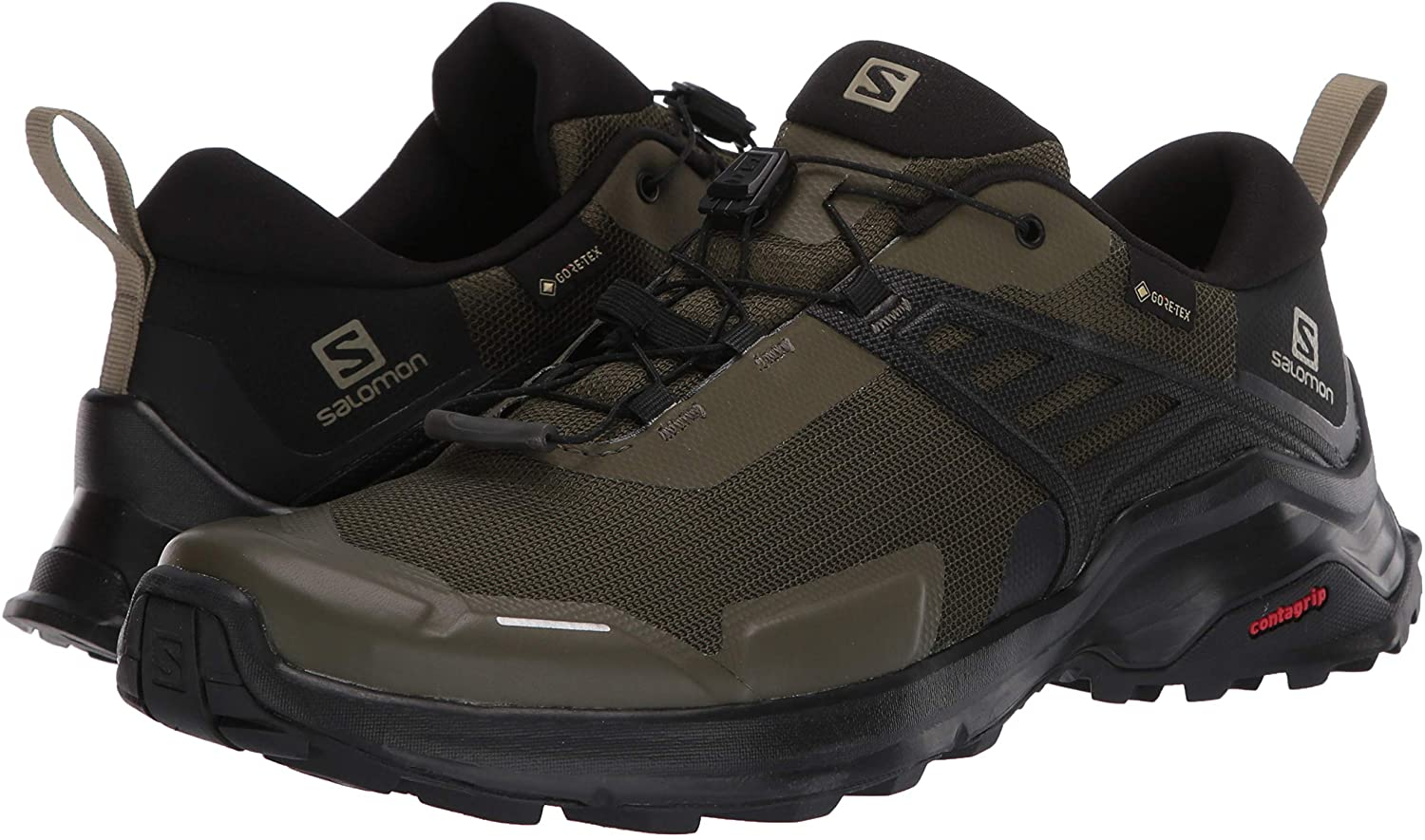 Zapatillas Salomon X Raise GTX Kaki
