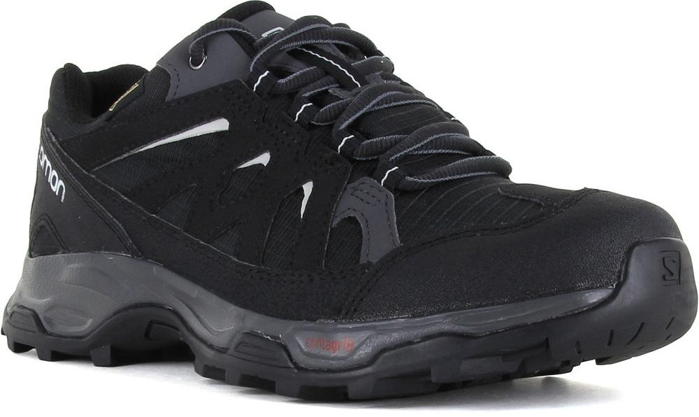 mejor coleccion fotos oficiales Calidad superior Zapatillas Salomon Effect GTX W Negro